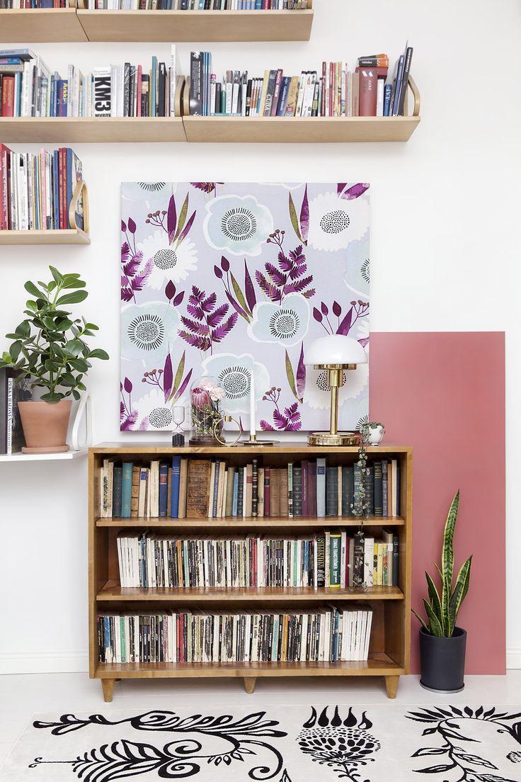 Suvi fabric by Vilma Pellinen , Aino rug by Matleena Issakainen