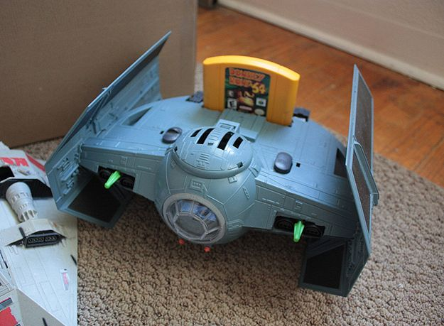 Custom Built Nintendo 64 Star Wars Tie Fighter Game Console