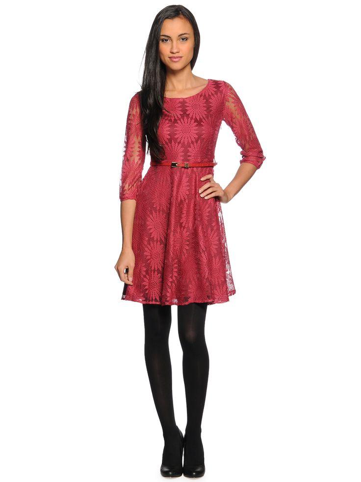 Yumi Dress, berry
