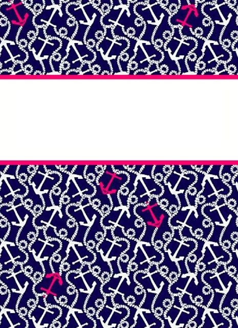 From The Bottom: Preppy Binder Covers