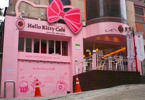 Hello Kitty Cafe...Seoul, Korea: Buckets Lists, Favorite Places, Seoul Korea, Cafe Seoul, Hello Putty, Kitty Cafe, Cafe K-Cup, Hello Kitty, South Korea