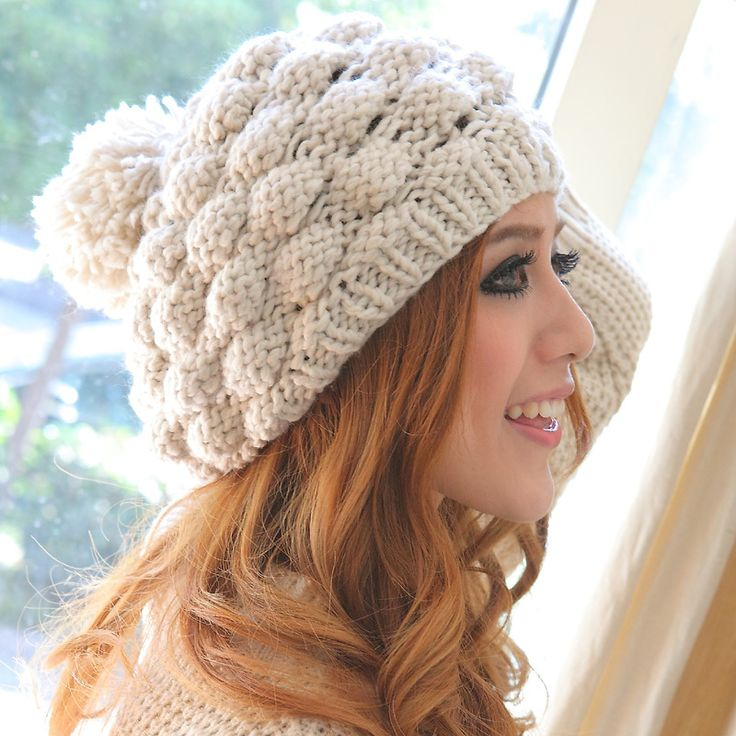 Free-shipping-New-arrival-autumn-and-winter-thermal-wool-font-b-hat-b-font-pineapple-font