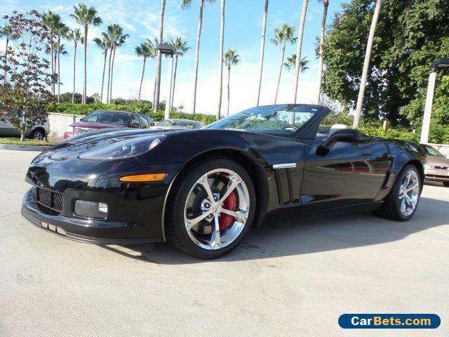 2013 Chevrolet Corvette Grand Sport 3LT Convertible 2-Door #chevrolet #corvette #forsale #unitedstates