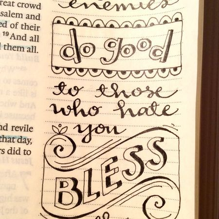 Illustrated Faith... Bible Journaling Inspiration