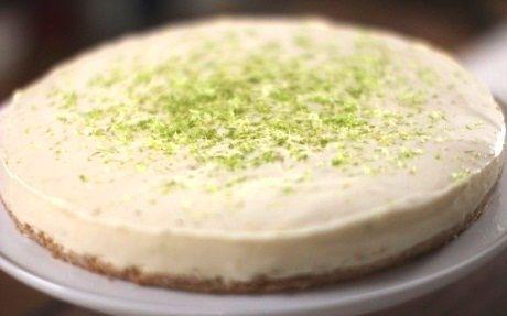 Perfect No-Cook Cheesecake by Siba Mtongana @FoodNetwork_UK