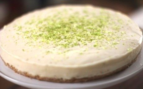 Perfect No-Cook Cheesecake by Siba Mtongana @FoodNetwork_UK