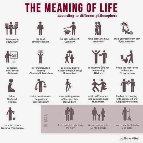 the value and meaning of life What would it mean to say that life has meaning or purpose  to the view that  life has meaning only in terms of individualistic, materialistic, and secular values.