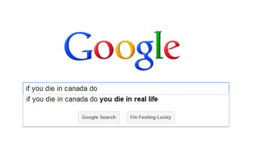 if you die in canada do you .... ?