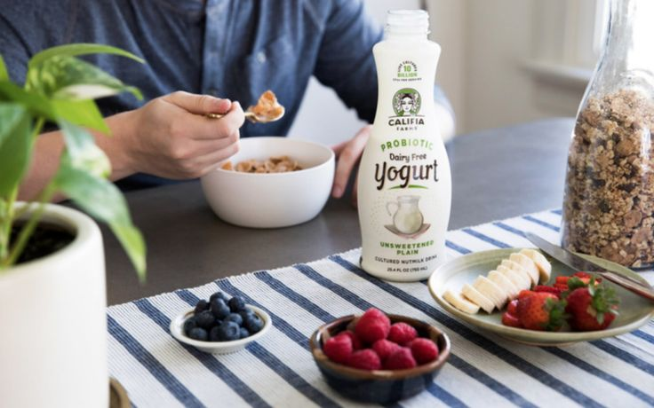 Califia Farms is at it again! The plant-based milk company just launched a new line of dairy-free and gut-healthy probiotic yogurt drinks.