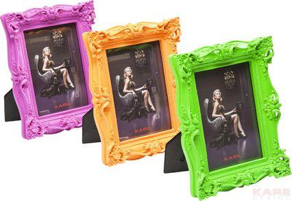 Frame Shocking Barock Neon 10x15cm  Assorted