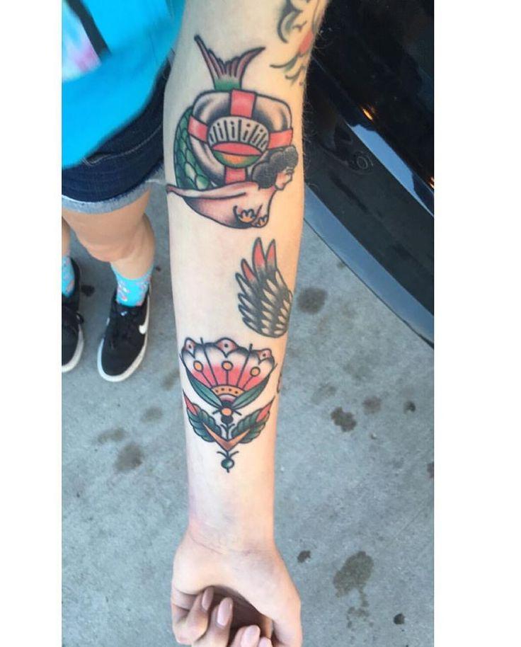 Tattoos by Ben DeLano @ Seawolf Tattoo Co. Minneapolis MN