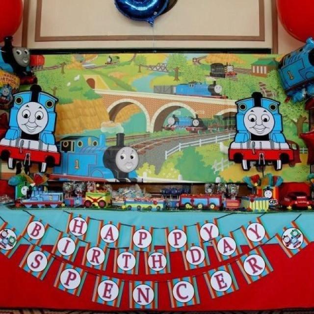Thomas The Tank Train Birthday Party Centerpiece Playpatterns