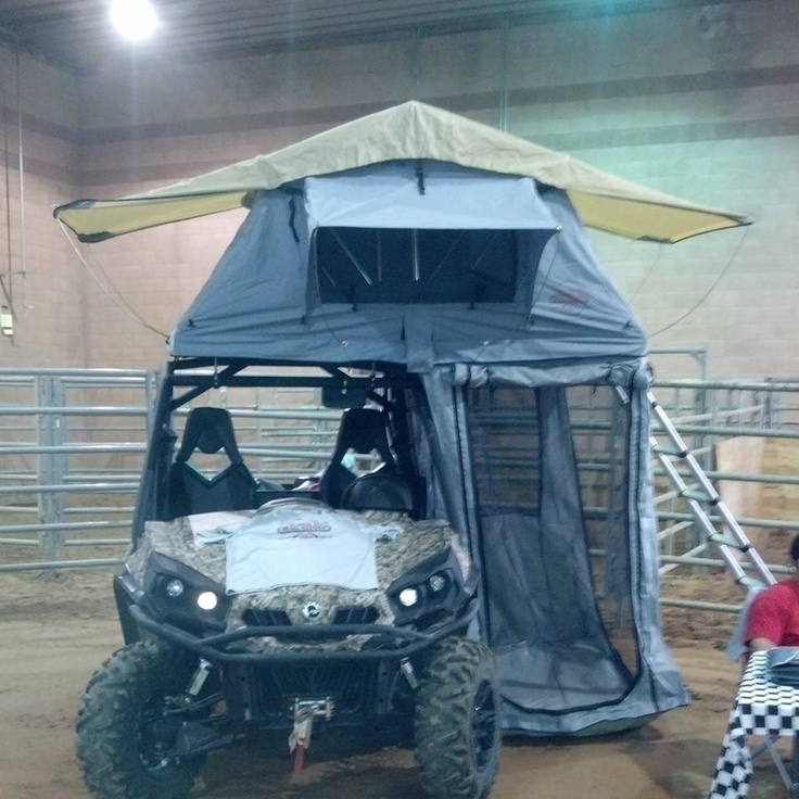 MacAttaxx Side by Side Roof Top Tent