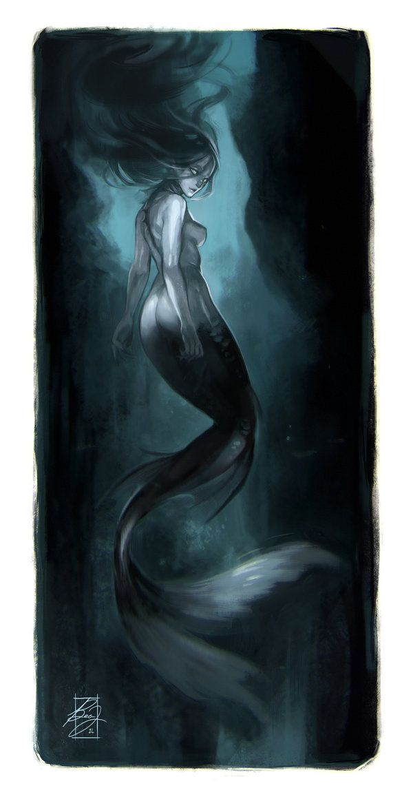 Seductress of the Deep by BeaGifted on DeviantArt