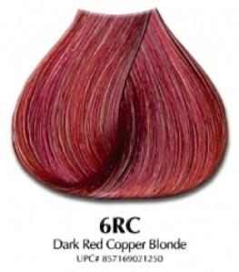 Dark copper blonde hair color ion