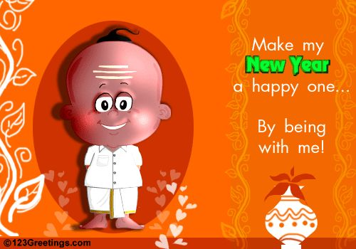 Wish to have a special one to be by your side this #TamilNewYear? Let them know this with this #ecard. www.123greetings.com