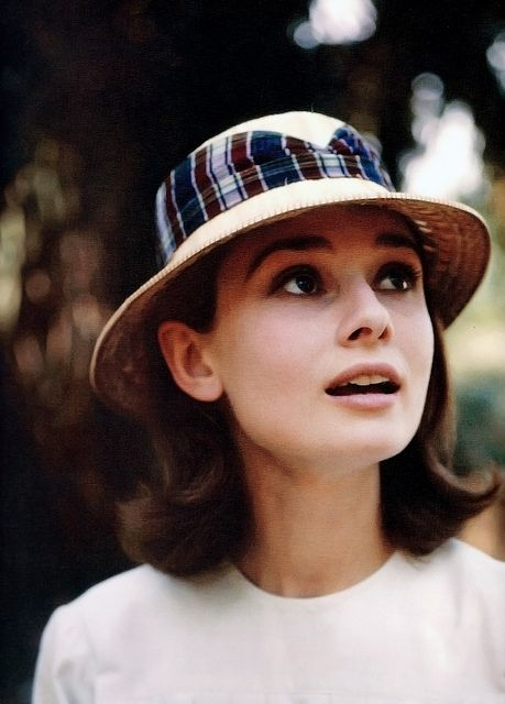 Audrey Hepburn. We missed the boat with Calista Flockhart portraying her in a biopic.But,why can't Natalie Portman do it?