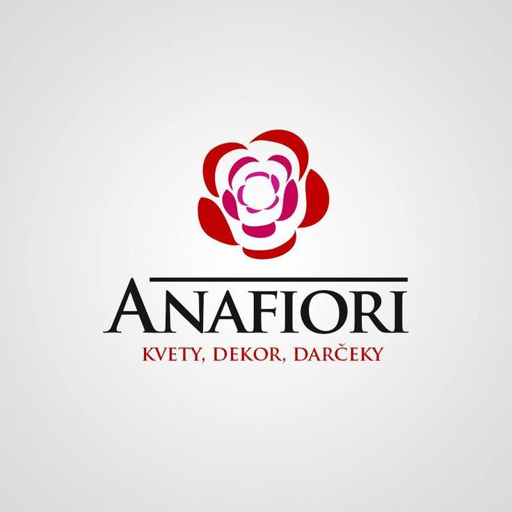 Náš grafik je naozaj šikovník a môže sa pochváliť takýmto krásnym logom pre ANAFIORI.😉 #logo #portfolio #modernewebstranky