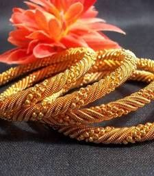 Golden jaali bangles set of 4 pc shop online