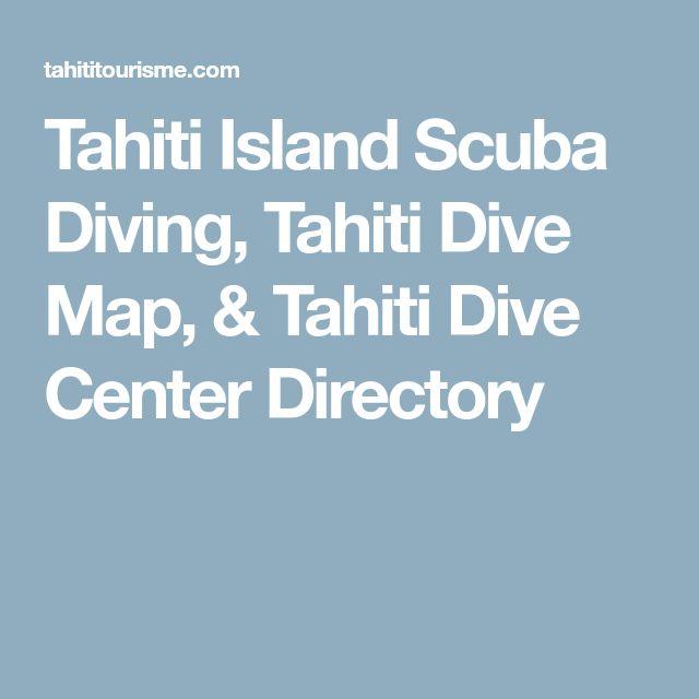 Tahiti Island Scuba Diving, Tahiti Dive Map, & Tahiti Dive Center Directory