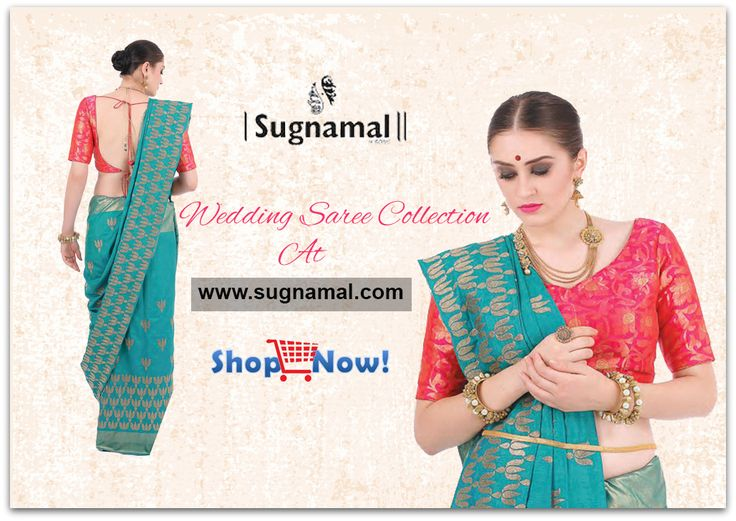 Exclusive wedding saree collection online and offline & online Visit @http://sugnamal.com/category/?cat=Shop+Women&&subcat=Sarees #wedding #saree #new #collection #party_wear #desi #indian #happy #shop_online #blue #red #heavy_sarees #sugnamal