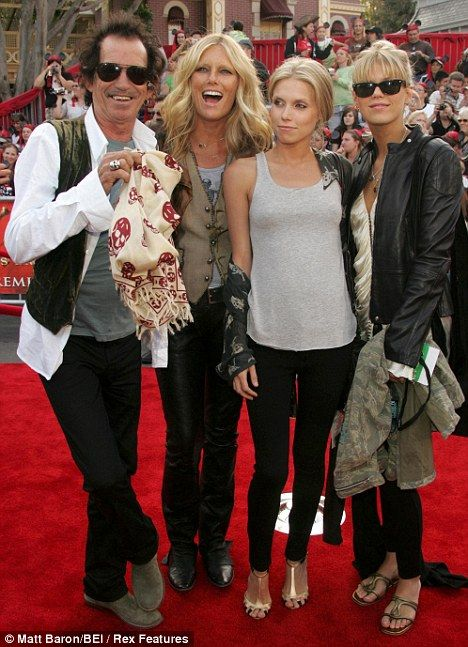 179 best images about Patti Hansen on Pinterest   Bazaars ... Keith Richards Family