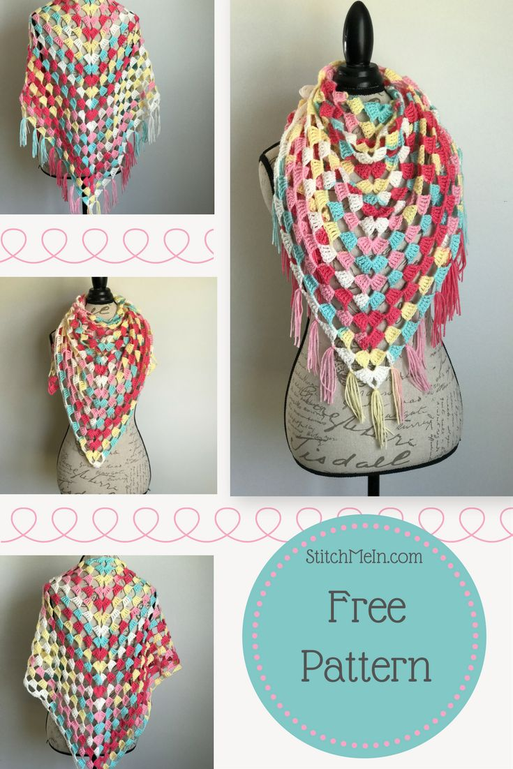 Free Crochet Pattern and Picture Tutorial