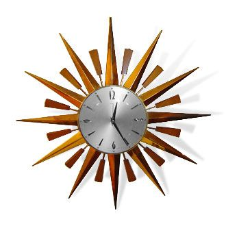 Have wanted a sunburst clock for as long as I can remember.