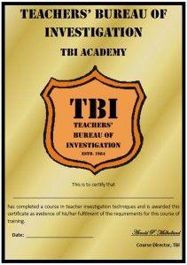 Teachers Bureau of Investigation