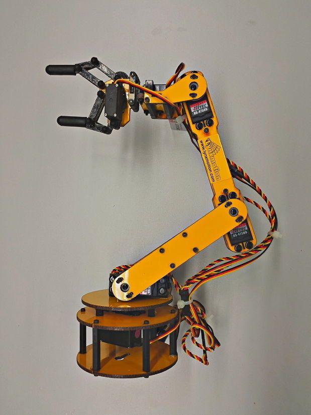 gripper arm w/ controller US $47.08  (grabber, arm, robot hand, grasp, snatch,paw )