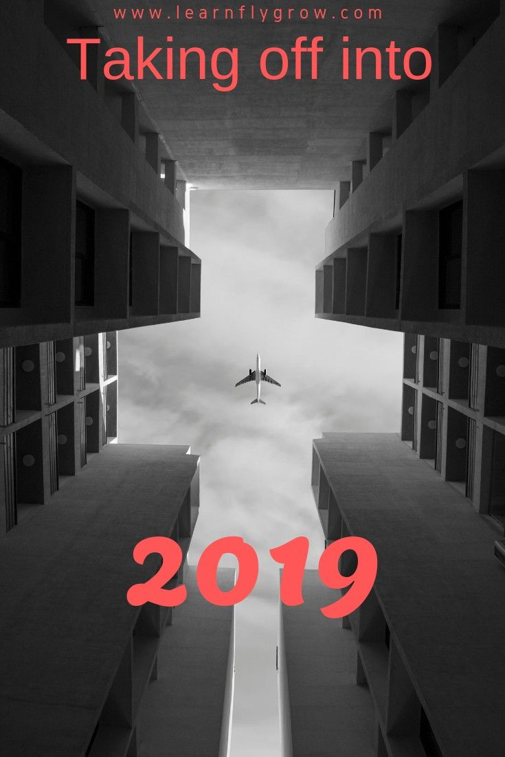aviation is all about goals take off learn fly grow in