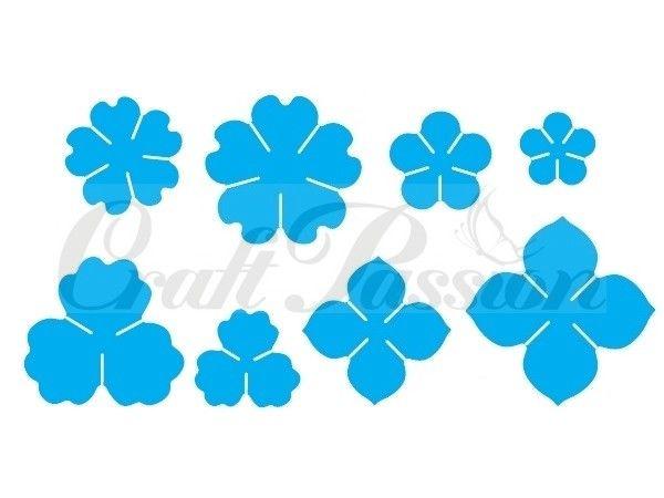 Komplet wykrojników Kwiaty nr7 Craft Passion