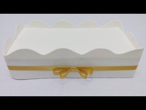 Como fazer caixinha com caixa de leite para lembrancinha - YouTube