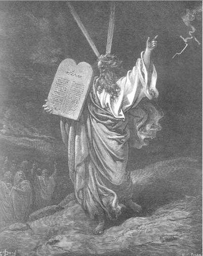 иллюстрация к библии Исход глава 34 #библия #ветхийзaвет #Bible #иллюстрация #гравюра #картина #искусство #религия #христианство