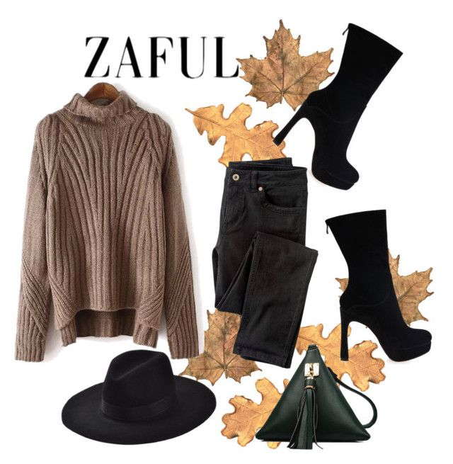 """""""http://www.zaful.com/?lkid=5197 -44"""" by christine-792 ❤ liked on Polyvore featuring Wrap"""