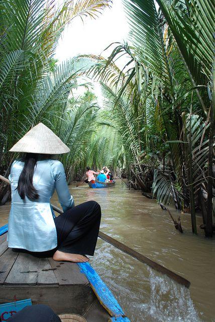 Mekong Delta, Vietnam http://www.exoticvoyages.com/vietnam/luxury-travel Please…