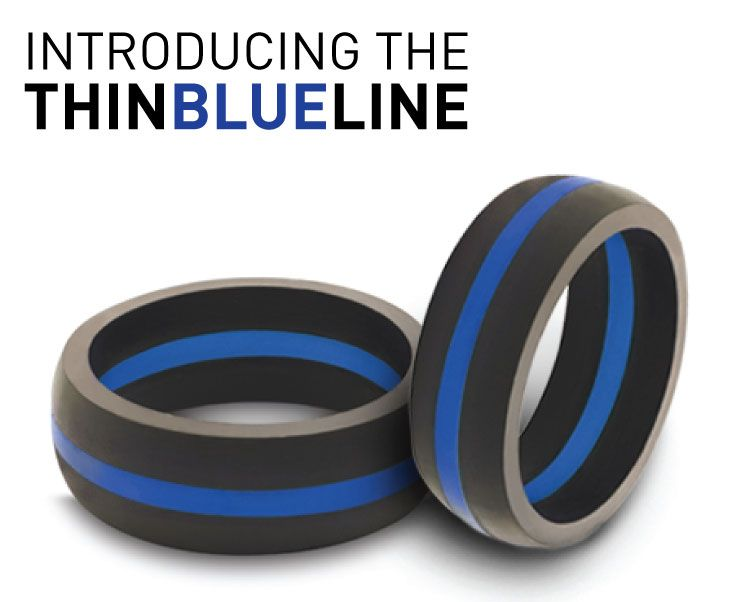 We are proud to officially release the second ring in our Thin Line Collection: The Thin Blue Line http://qalo.com/pages/thin-blue-line 20% of the proceeds from this collection will be donated to care for the families of fallen officers. ‪#‎QALOring‬ ‪#‎CommitmentIsCourageous‬