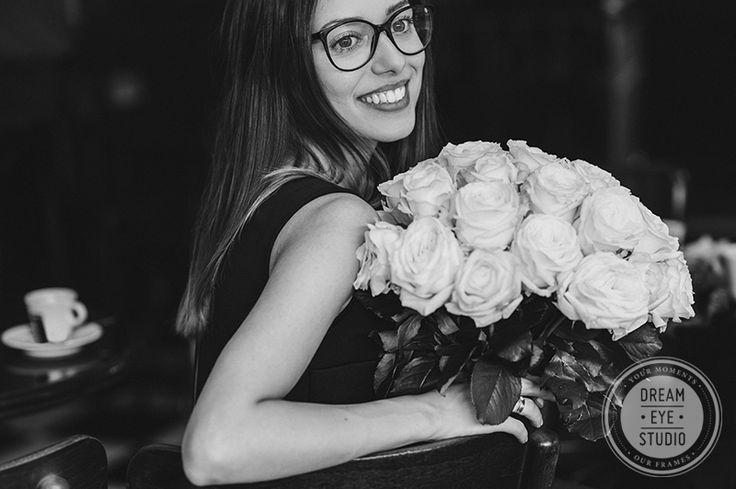 http://dreameyestudio.pl/  #dreameyestudio #bouquet #whiteroses #roses #rose #paris #classicbeauty #beauty #rayban