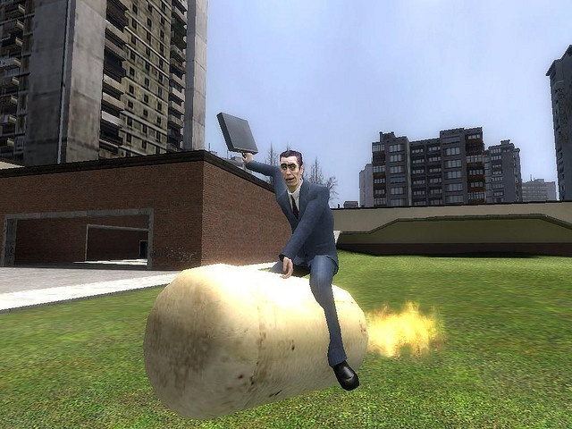 life of gmod (yeehaw) made with gmod (garrys mod) very funny game (pres all sizes for better pic)     . Great Picture!