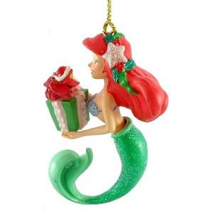 1000 images about disney figurines snowglobes ornaments for Ariel christmas decoration