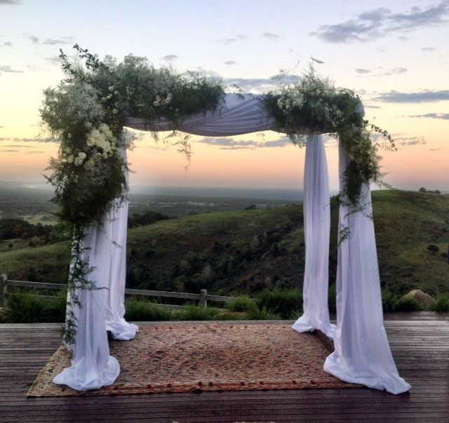 How stunning is this!  One of the beautiful venues in Byron Bay
