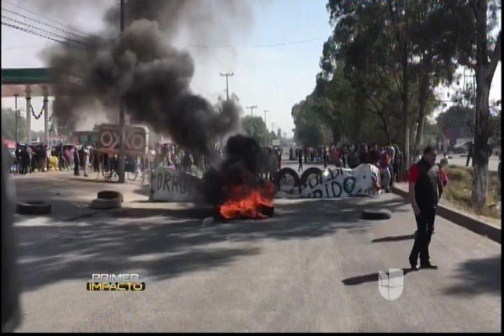 Miles De Méxicano Indignados Y En Las Calles Tras El Alto Costo De La Gasolina