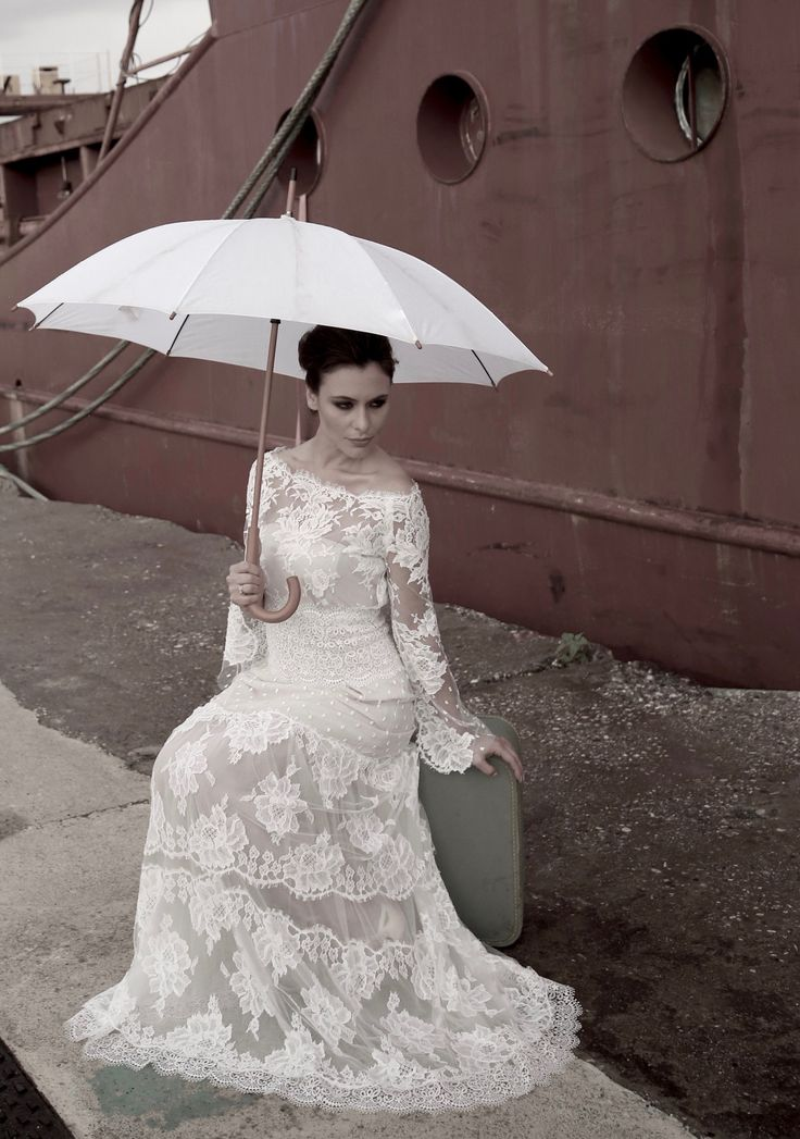 Faye bridal gown .Bachdi resort by Nymphi .www.nymphidesign.com  Lace, bridal, gown, Boho,wedding