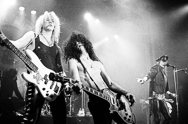 This Week in Billboard Chart History: In 1988, Guns N' Roses Scored 'Sweet' Success Atop the Hot 100   Billboard