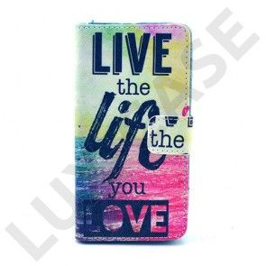 Moberg Sony Xperia Z3 Compact Suojakotelo – Live The Life You Love