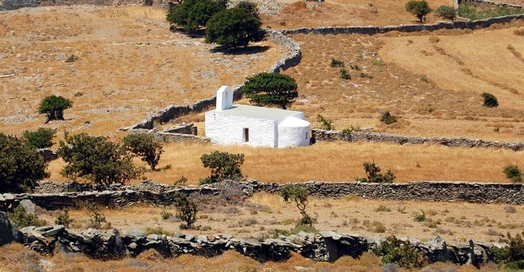 We ♥ Greece | Typical landscape of Cycladic islands #Greece #Cyclades #travel #explore #destination
