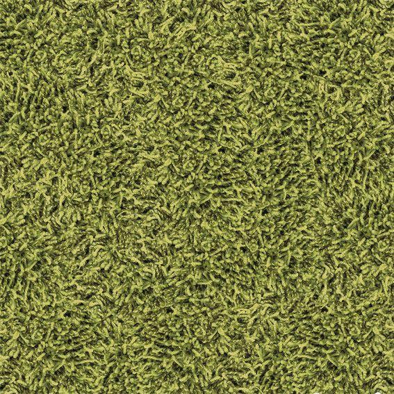 Shaggy teppefliser gjør at rommet får atomosfære.