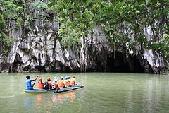 The Puerto Princesa Subterranean River National Park....the Philippines