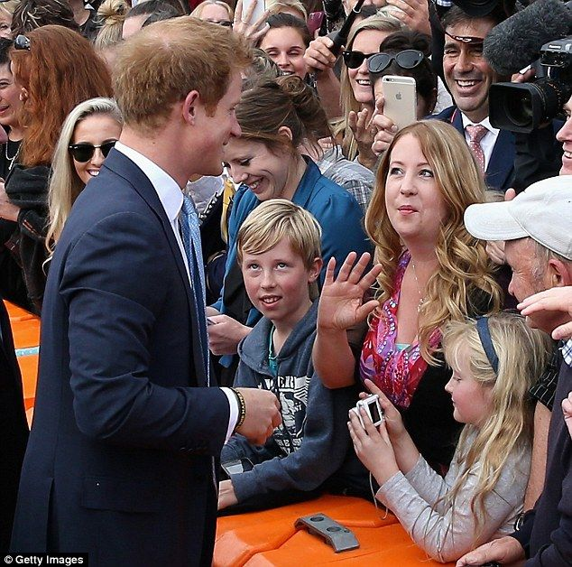 Prince Harry was surprised to bump intoVicki McBratney, the former matron at his prep school