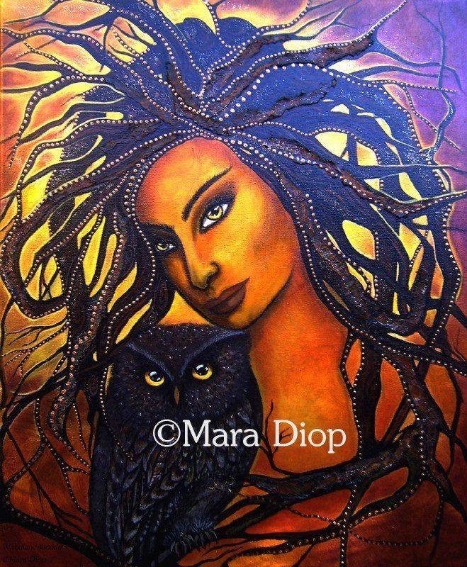 Woodland goddess. Www.maradiop.com
